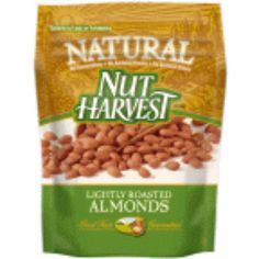 I'm learning all about Nut Harvest Natural Almonds Lightly Roasted at @Influenster!