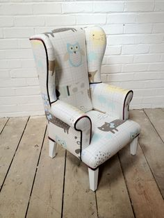 Adorable! Children's Chair by OwenHillBespoke on Etsy, £160.00
