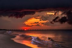 Storm on the Bay, photographed by Chris Giersch at Virginia Beach, Virginia Donate Now, Virginia Beach, Sunset, Outdoor, Outdoors, Sunsets, Outdoor Games, Outdoor Life, The Sunset