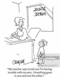 School Nurse cartoons, School Nurse cartoon, funny, School