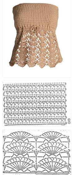 Fabulous Crochet a Little Black Crochet Dress Ideas. Georgeous Crochet a Little Black Crochet Dress Ideas. Débardeurs Au Crochet, Love Crochet, Crochet Crafts, Hand Crochet, Crochet Projects, Black Crochet Dress, Crochet Blouse, Crochet Dresses, Crochet Designs