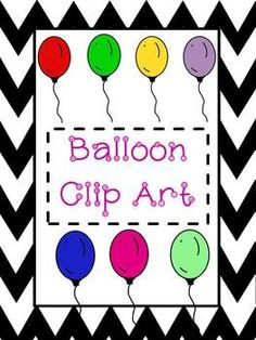 """You get 8 images of balloon clip art with this product. There are 7 colorful balloons and 1 printer friendly version. All images are set on a transparent background making it easy to use! Enjoy!******Be sure you """"follow me"""" so that you get an email each time I add a new product listing."""