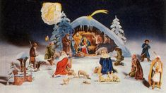 ... - Christmas on Pinterest | Paper models, Papercraft and Nativity