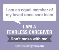 I am an equal member of my loved ones care team.#caregiver #alzheimers #tgen #mindcrowd www.mindcrowd.org