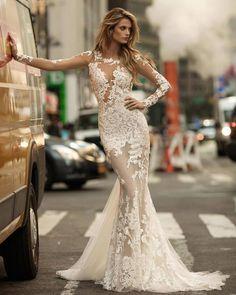 Vestido de noiva - Veja +. #vestidodenoiva #noiva #casamento #lacremania #ideia #inspiração  #sereia