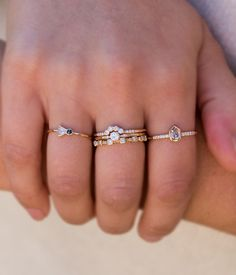 Sparkly Diamond Ring - Audry Rose