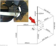 ANTENERGY 2.5M Midge Mesh Foxwing SKYWING Batwing AWNING CAMPER TRAILER 4WD