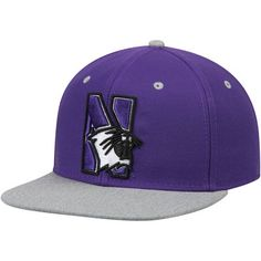 Men s Purple Northwestern Wildcats Letterman Adjustable Snapback Hat 3f9a193ded8b