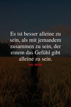 """""""It& better to be alone than to be with someone . Motivational Stories, Inspirational Quotes, I Hate Love, Menu Dieta, Better Alone, German Words, Four Letter Words, Mothers Day Quotes, Be With Someone"""