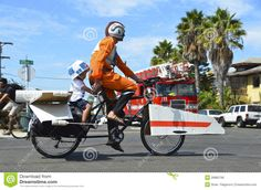 Star Wars Bike by Brian Flaigmore, via Dreamstime Happy Star Wars Day, Cool Bikes, More Fun, Baby Strollers, Tours, Stock Photos, Image, Baby Prams, Prams