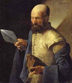 Georges de La Tour - apotre thomas