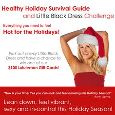 o thrilled about this!!!! What an amazing Holiday Count Down we are going to have :))) Click for full details http://www.damyhealth.com/healthy-holiday-survival-guide/