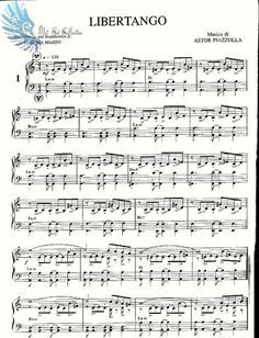 Printable Sheet Music, Free Sheet Music, Piano Sheet Music, Music Sheets, Tango, Piano Score, Music Score, Beginner Piano Lessons, Music Lessons