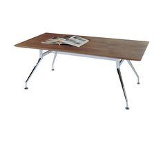 Τραπεζάκια Σαλονιού : Prino τραπέζι σαλονιού καρυδί ΕΜ706 120χ65cm