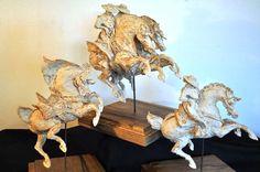 2013 Argilla France. International pottery fair. Sculpture. Horse