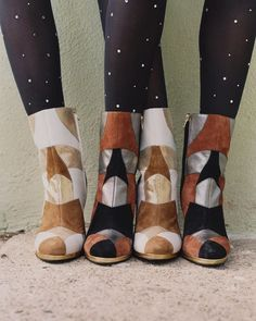 Pin for Later: Shop Every Must-Have Piece From the Rodarte x & Other Stories Collab Pieces Include These Patchwork Boots and Crystal Stockings