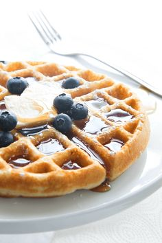 This basic recipe for gluten free waffles is the only one you'll ever need. Also a link to an all purpose gluten free flour blend to make them with.