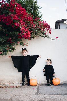 calivintage - diy kids bat costumes