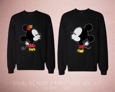 Mickey and minnie sweatshirts on the hunt