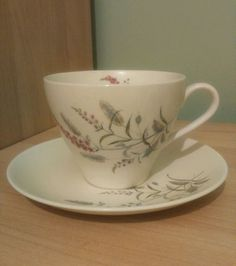 Stylish J & G Meakin Sol cup & saucer marked on base