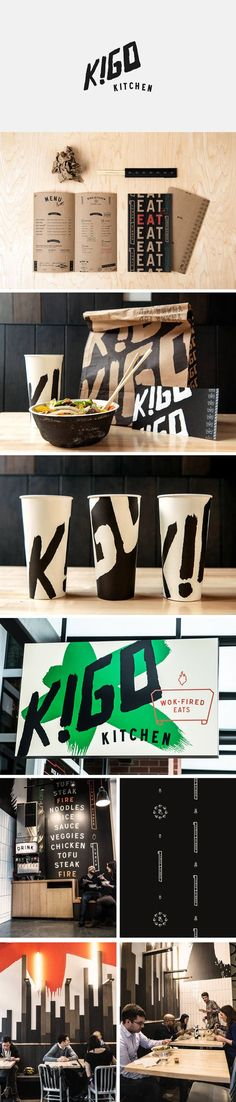 Kigo Kitchen on Behance | Fivestar Branding – Design and Branding Agency & Inspiration Gallery