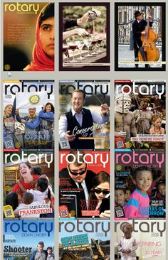 April, month of the Magazines Water And Sanitation, Education And Literacy, Kids Health, Rotary, First World, Magazines, Peace, Children Health, Journals