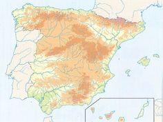 El relleu d'Espanya
