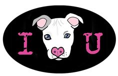 I ♥ U Bumper Sticker-http://www.brittanyfarina.com/shop/