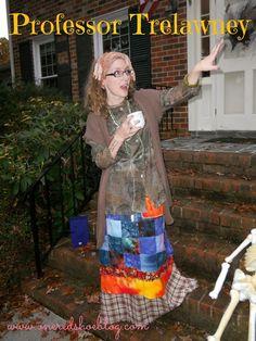 Professor Trelawney Costume on a Budget