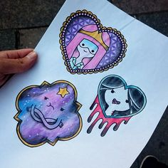 adventure time tattoo flash - Google Search