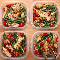 Weekday Meal-Prep Pesto Chicken