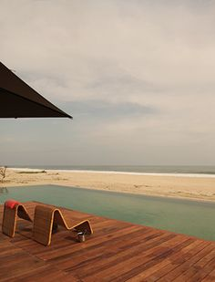 HOTEL ESCONDIDO in Puerto Escondido, Mexico. Luxe stay from $185/night plus each room features a private plunge pool! Go March/April.