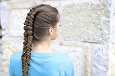 Infinity Braid Combo   Easy Hairstyles