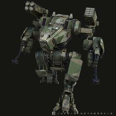 概念ロボット:Ben HansfordによるUPRISINGの概念ロボット