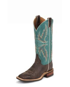 When the weather gets cooler, I love to put on my cowgirl boots! These are a cute pair!