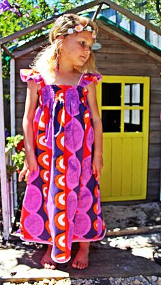 Girls Size 1-8 Maxi Length Meadow Dress - by Two Pink Flamingos on Etsy, $58.00 AUD