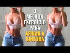 O MELHOR EXERCÍCIO Para AFINAR CINTURA! [TESTADO] Como Afinar a Cintura Em Casa! Cintura Fina Rápido - YouTube