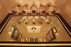Luxury Moroccan Lantern Showroom.