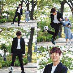 """Fated to Love You"": Choi Jin Hyuk The Soccer Playing Pretend Priest + Night Club DJ (UPDATED) 
