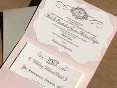 This is so cool! I wonder where we would get these envelopes.  Pocket Wedding Invitation (Mahler)