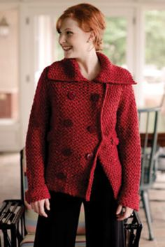 Ravelry: New Pea Coat pattern by Teva Durham