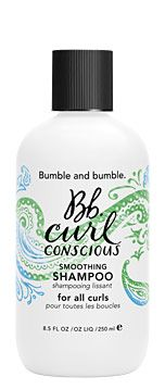 Bumble and Bumble Curl Conscious Smoothing Shampoo ... Gently cleanse and help curls take shape right out of the shower - shiny and frizz-free.
