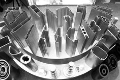 Anodizing aluminium profile products, industrial aluminium profile