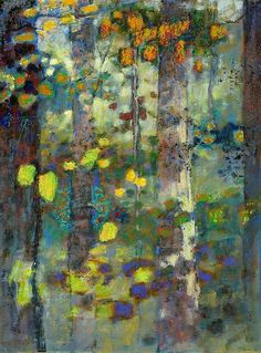 """"""" Rick Stevens, USA new work When All Was Wild III (2014) oil on canvas 36 x 27…"""