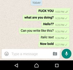 The latest whatsapp for android update brings text formatting, google documents sharing and backup on google drive features.