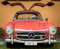 classic Mercedes 300 SL (front) • photo by Ruggero Poggianella 2014-05 | Flickr 14309220246