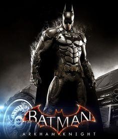 Batman: Arkham Knight - promo art by Tomasz Namielski ►get Batman Arkham City, Batman Arkham Knight Wallpaper, Batman Arkham Origins, Batman Wallpaper, Gotham City, Batman Games, Batman Comic Art, Batman Robin, Batman Poster