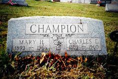 Tombstone Tuesday ~ Mary Amna HACKATHORN #genealogy