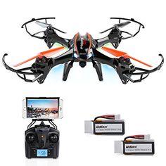 DBPOWER UDI U842 Predator WiFi FPV RC Drone with HD Camer... https://www.amazon.com/dp/B01D9XWFGG/ref=cm_sw_r_pi_dp_htiOxbWYD27TX