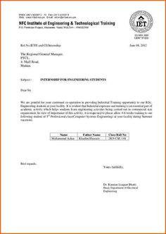 cover letter example for engineering internships